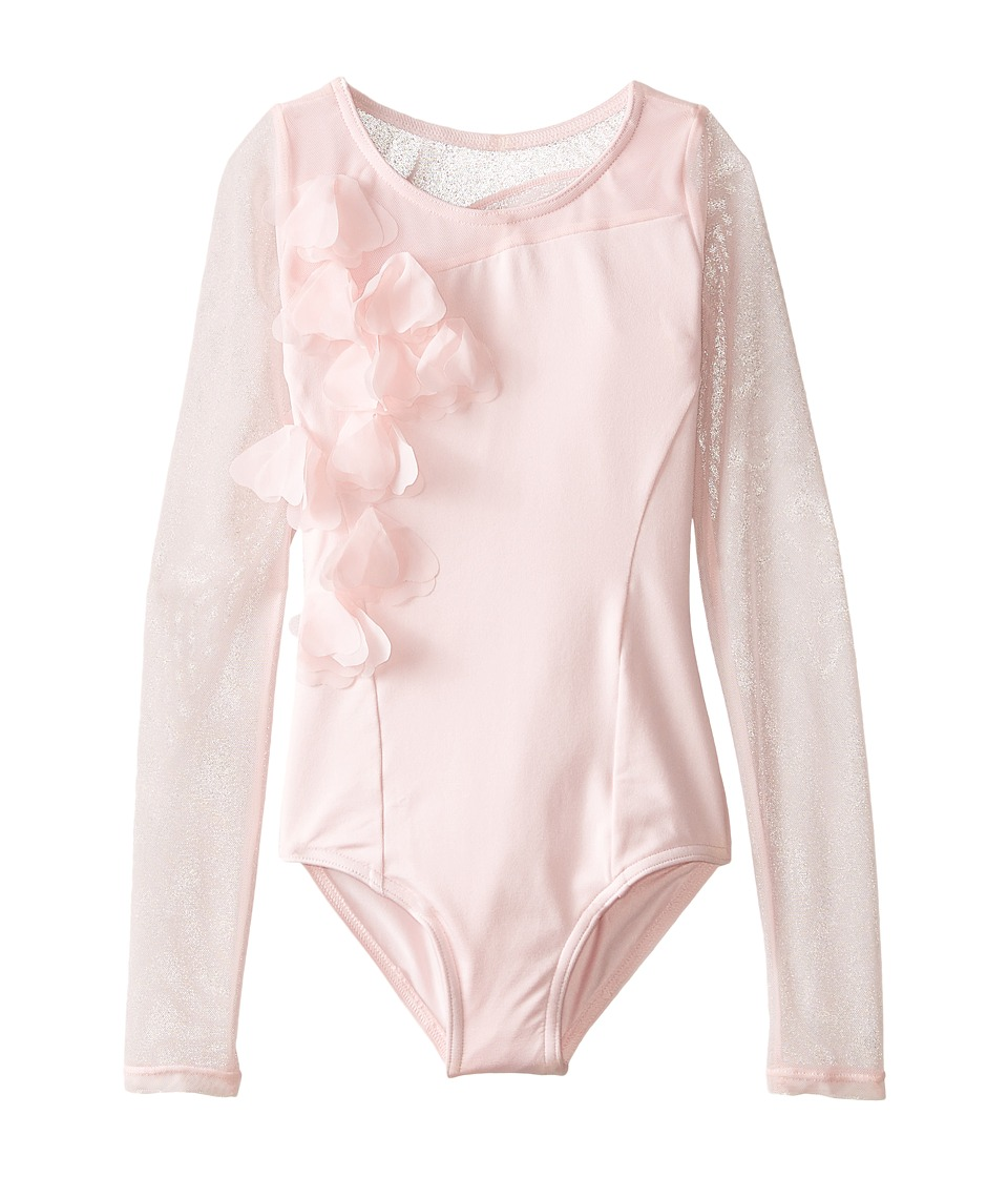 Capezio Kids - Long Sleeve Leotard (Toddler/Little Kids/Big Kids) (Pink) Girl's Jumpsuit & Rompers One Piece