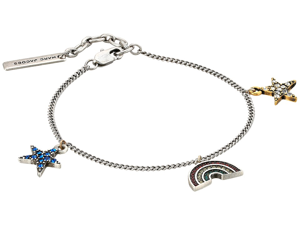 Marc Jacobs - Charms Paradise Mini Rainbow Star Charm Bracelet (Red Multi) Bracelet