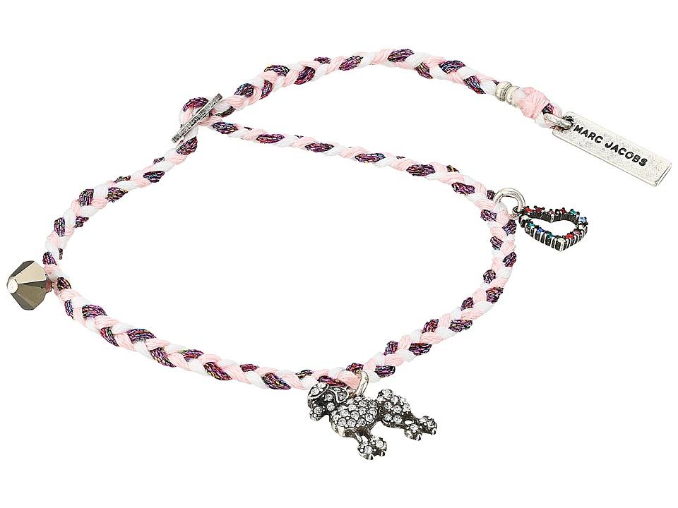 Marc Jacobs - Charms Paradise Poodle Friendship Bracelet (Pink Multi) Bracelet