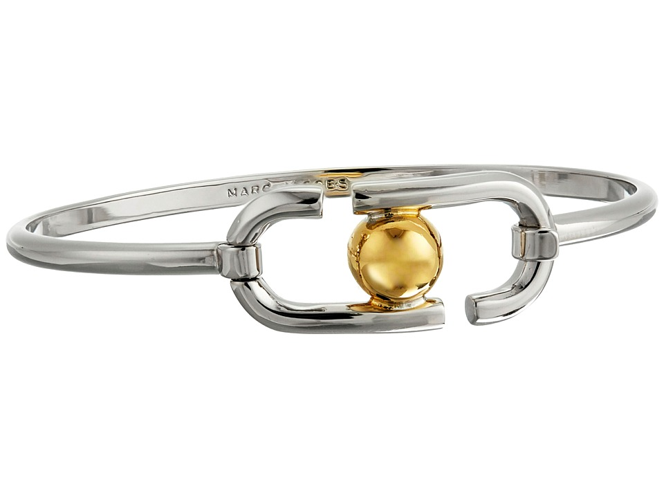 Marc Jacobs - Icon Hinge Bracelet (Silver Multi) Bracelet