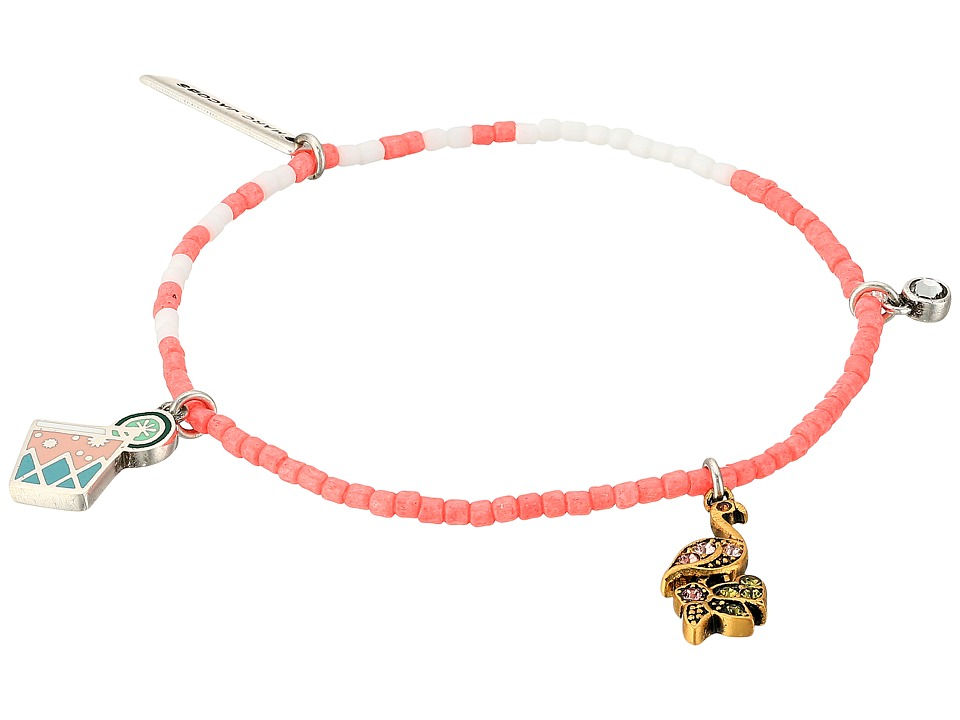 Marc Jacobs - Charms Paradise Cocktail Friendship Bracelet (Pink Multi) Bracelet