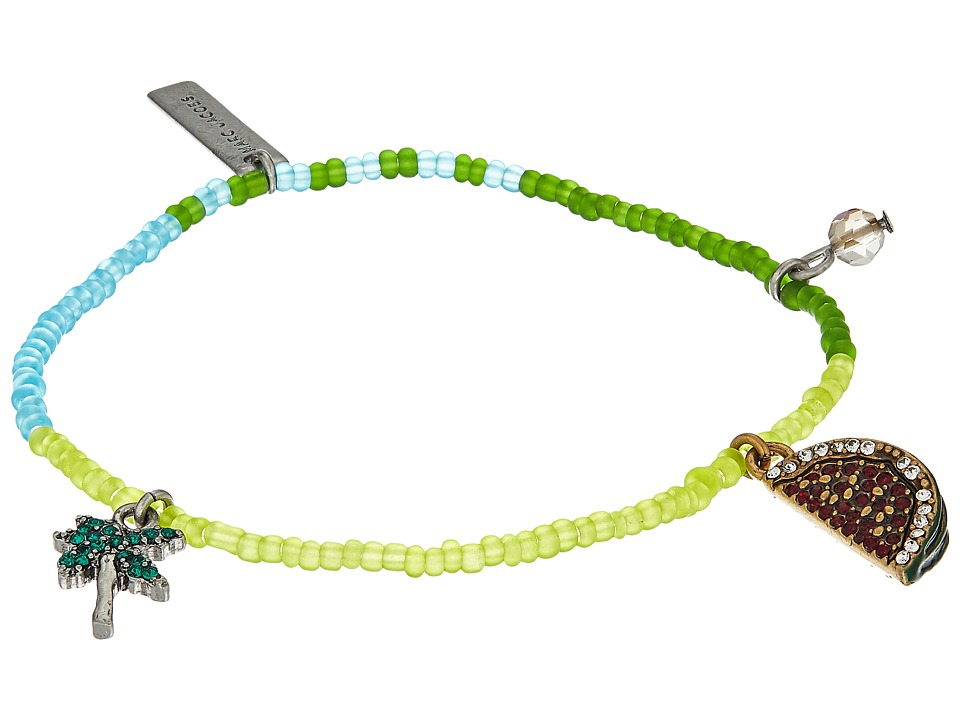 Marc Jacobs - Charms Tropical Watermelon Friendship Bracelet (Green Multi) Bracelet