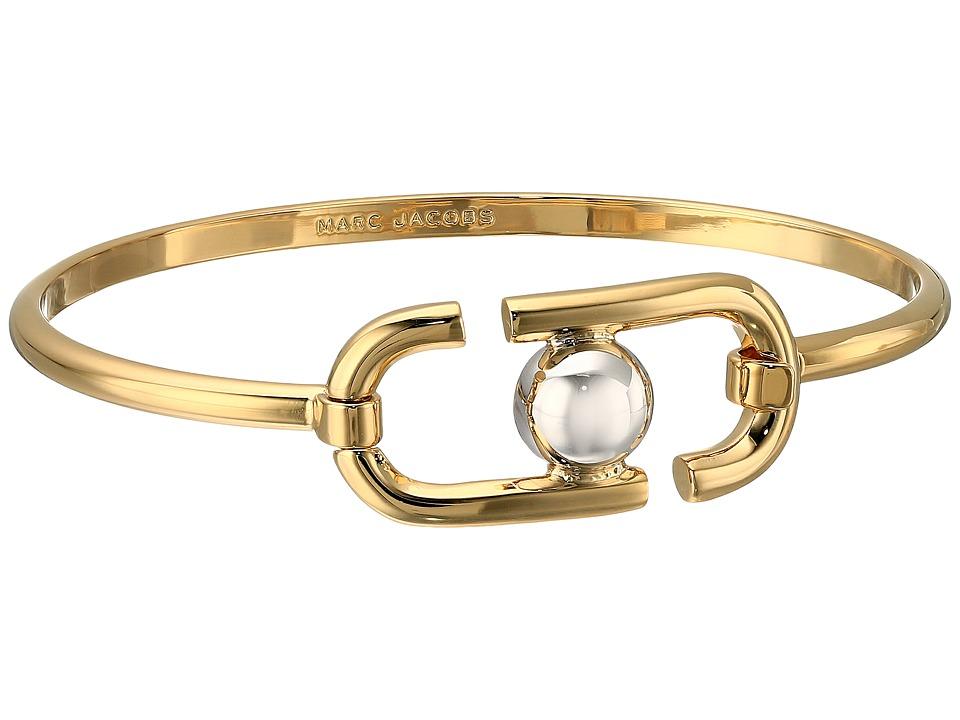 Marc Jacobs - Icon Hinge Bracelet (Gold Multi) Bracelet