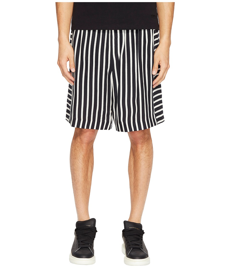 McQ - Panelled Shorts (Black/White) Men's Shorts