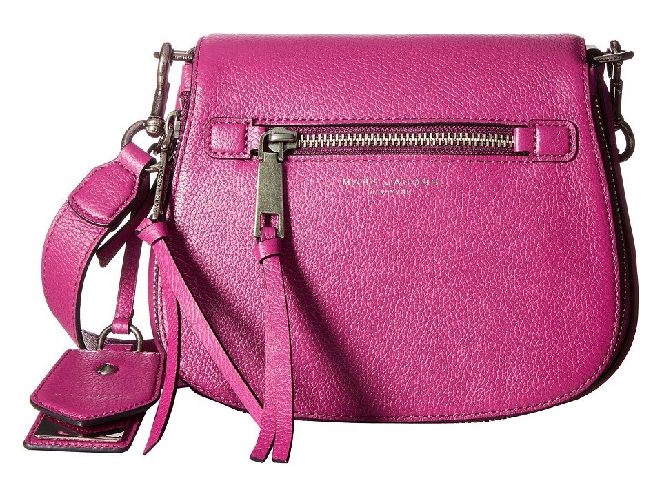 Marc Jacobs - Recruit Small Saddle Bag (Wild Berry) Handbags