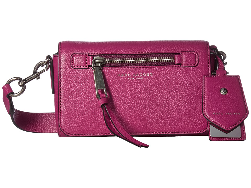 Marc Jacobs - Recruit Crossbody (Wild Berry) Cross Body Handbags
