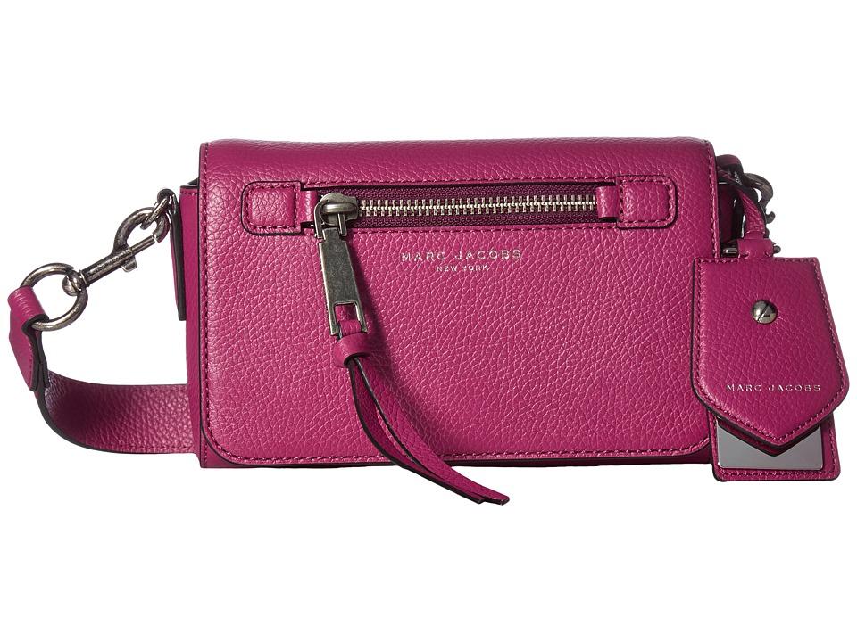 Marc Jacobs - Recruit Crossbody (Wild Berry) Cross Body Handbags