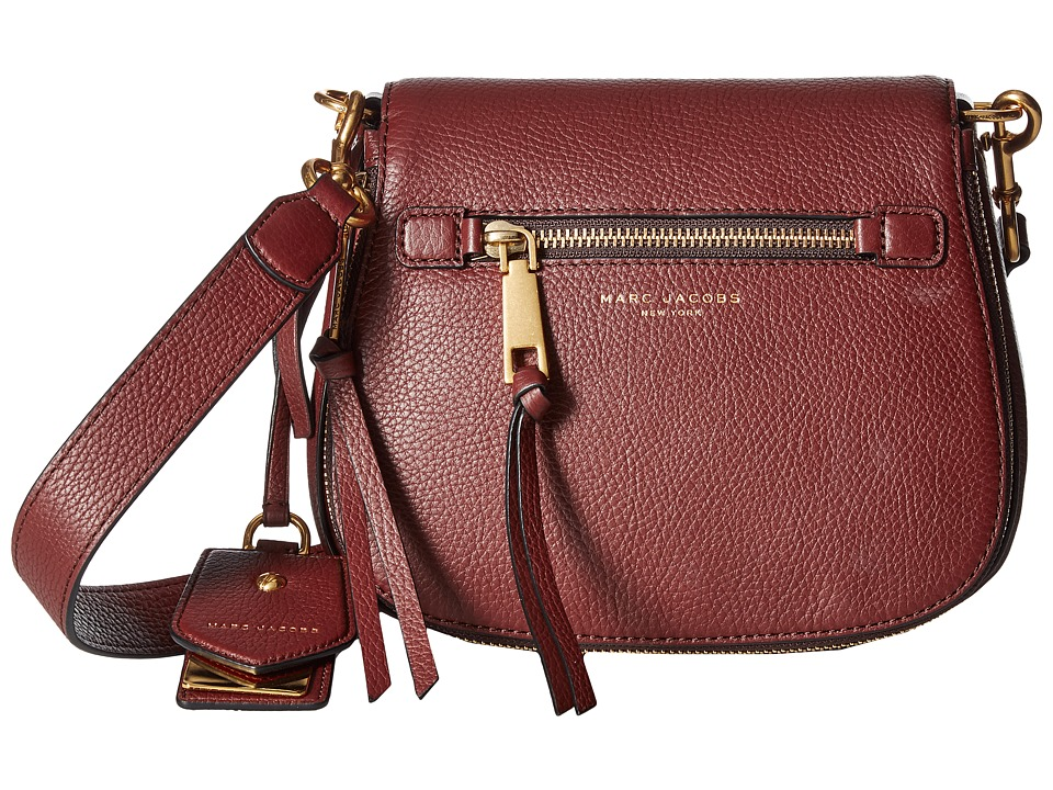 Marc Jacobs - Recruit Small Saddle Bag (Chianti) Handbags