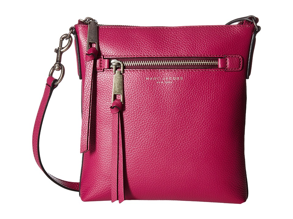 Marc Jacobs - Recruit North/South Crossbody (Wild Berry) Cross Body Handbags