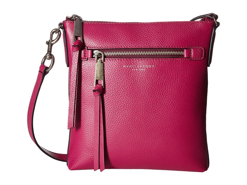 Marc Jacobs - Recruit North/South Crossbody (Wild Berry) Cross Body Handbags