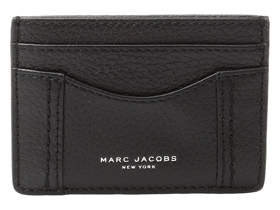 Marc Jacobs - Maverick Card Case (Black) Credit card Wallet