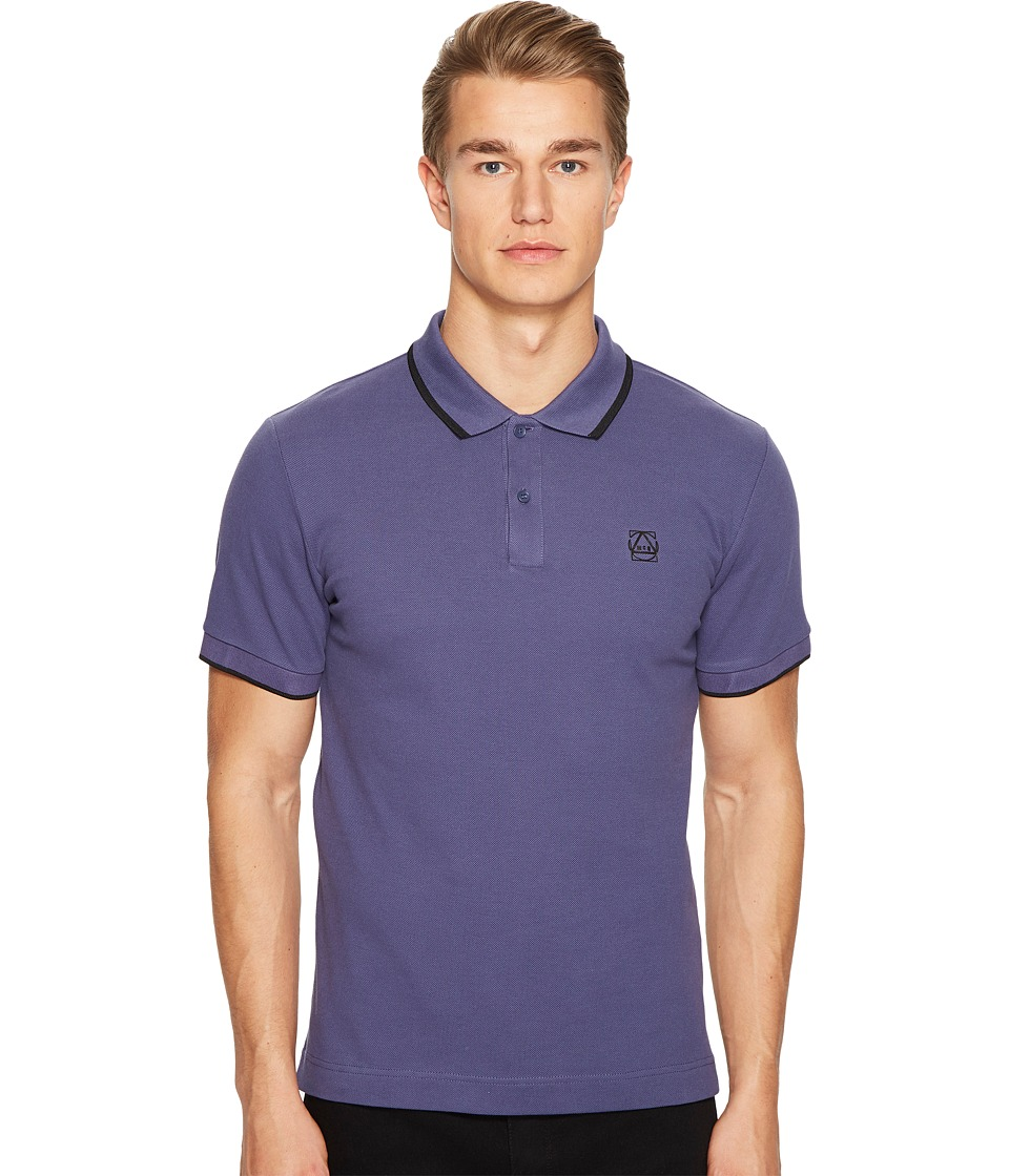 McQ - McQ Polo (Dusty Indigo) Men's Clothing