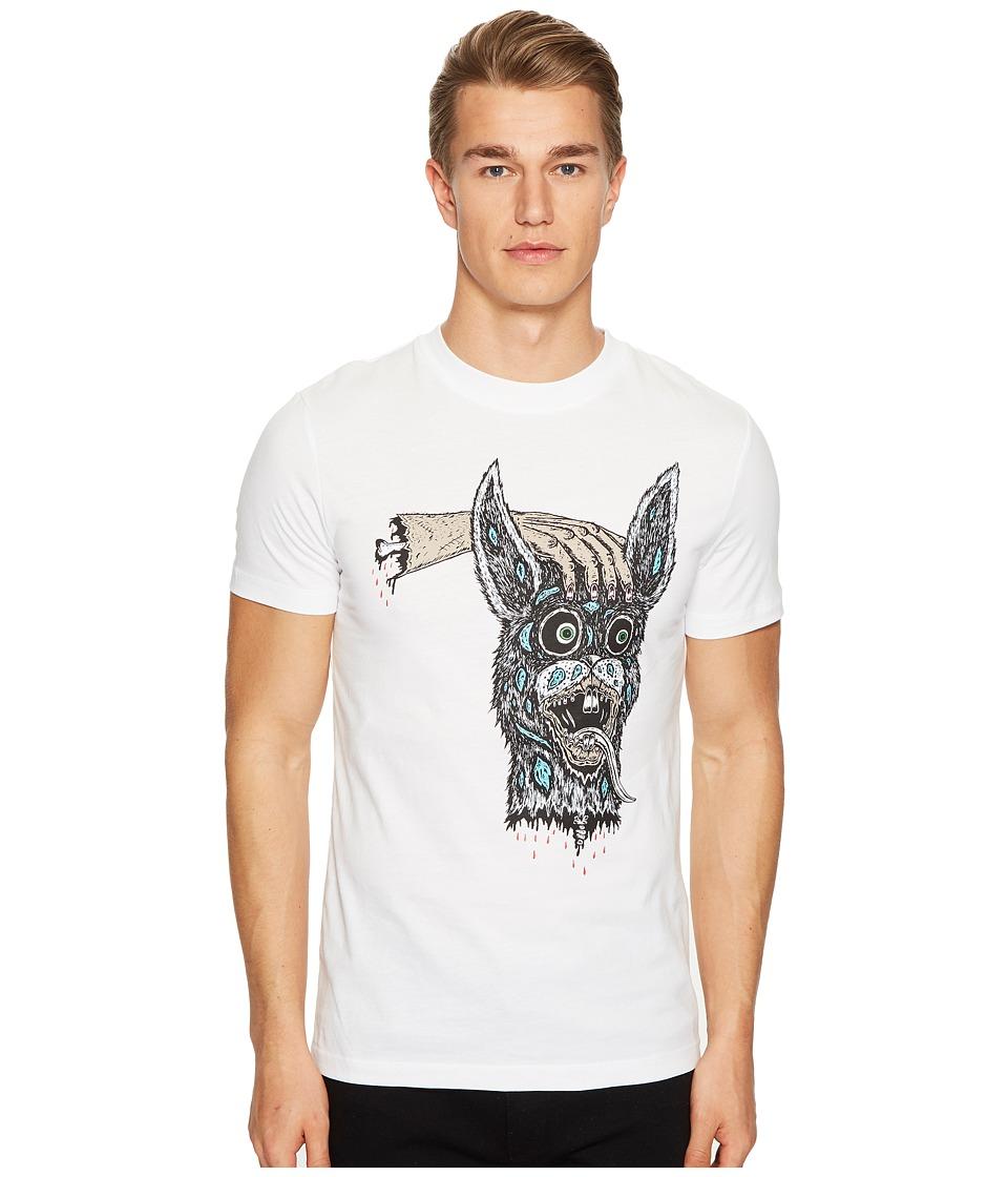 McQ - Hand/Bunny T-Shirt (Optic White) Men's T Shirt