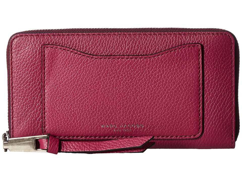 Marc Jacobs - Recruit Standard Continental Wallet (Wild Berry) Wallet Handbags