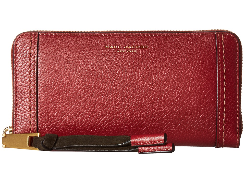 Marc Jacobs - Maverick Standard Continental Wallet (Russet Brown) Wallet Handbags