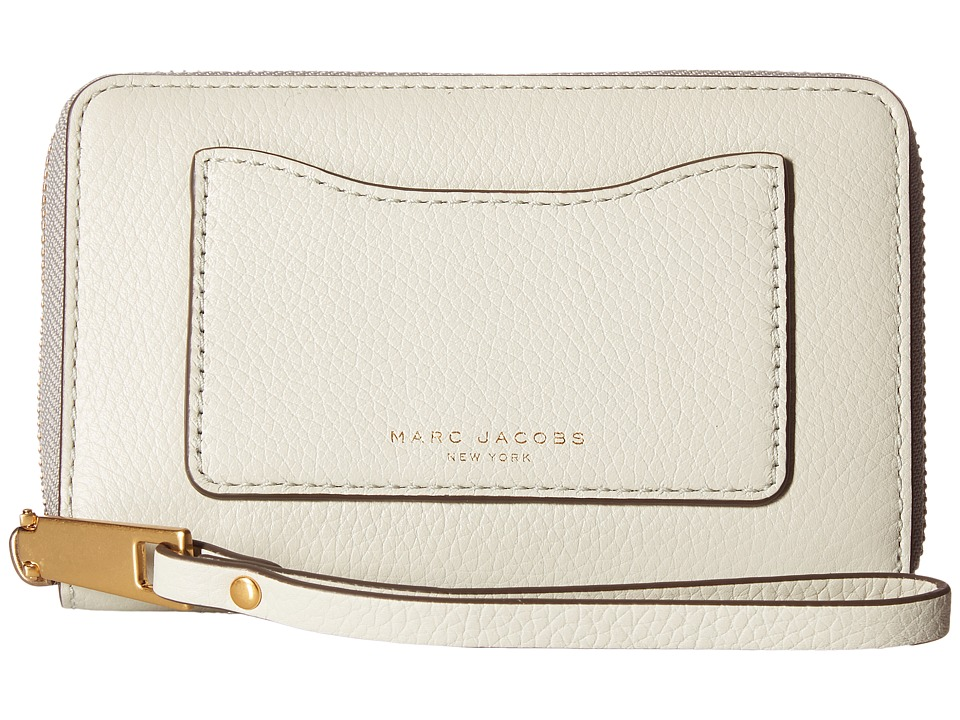 Marc Jacobs - Recruit Zip Phone Wristlet (Dove) Wristlet Handbags