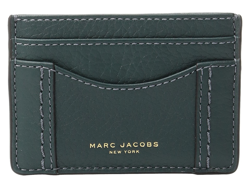 Marc Jacobs - Maverick Card Case (Cypress) Credit card Wallet