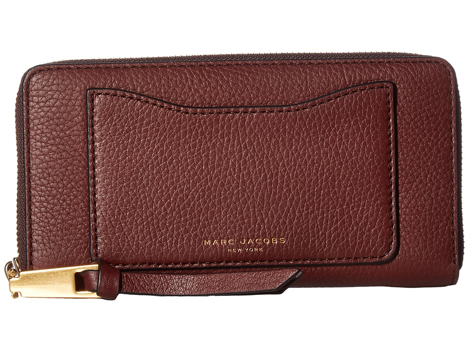 Marc Jacobs - Recruit Standard Continental Wallet (Chianti) Wallet Handbags