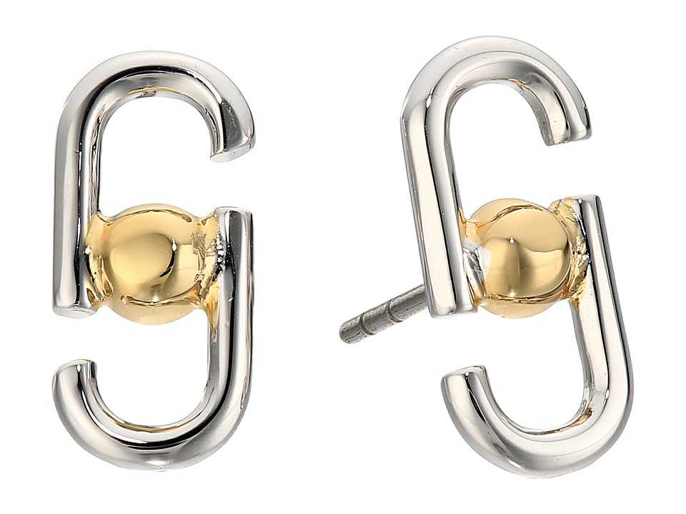 Marc Jacobs - Icon Studs Earrings (Silver Multi) Earring