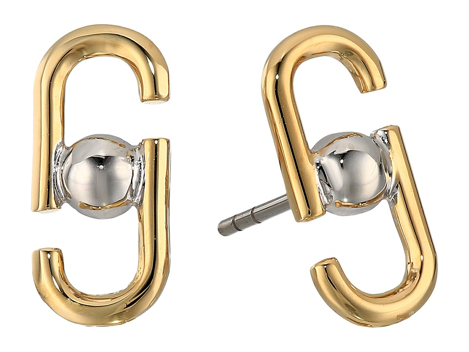 Marc Jacobs - Icon Studs Earrings (Gold Multi) Earring