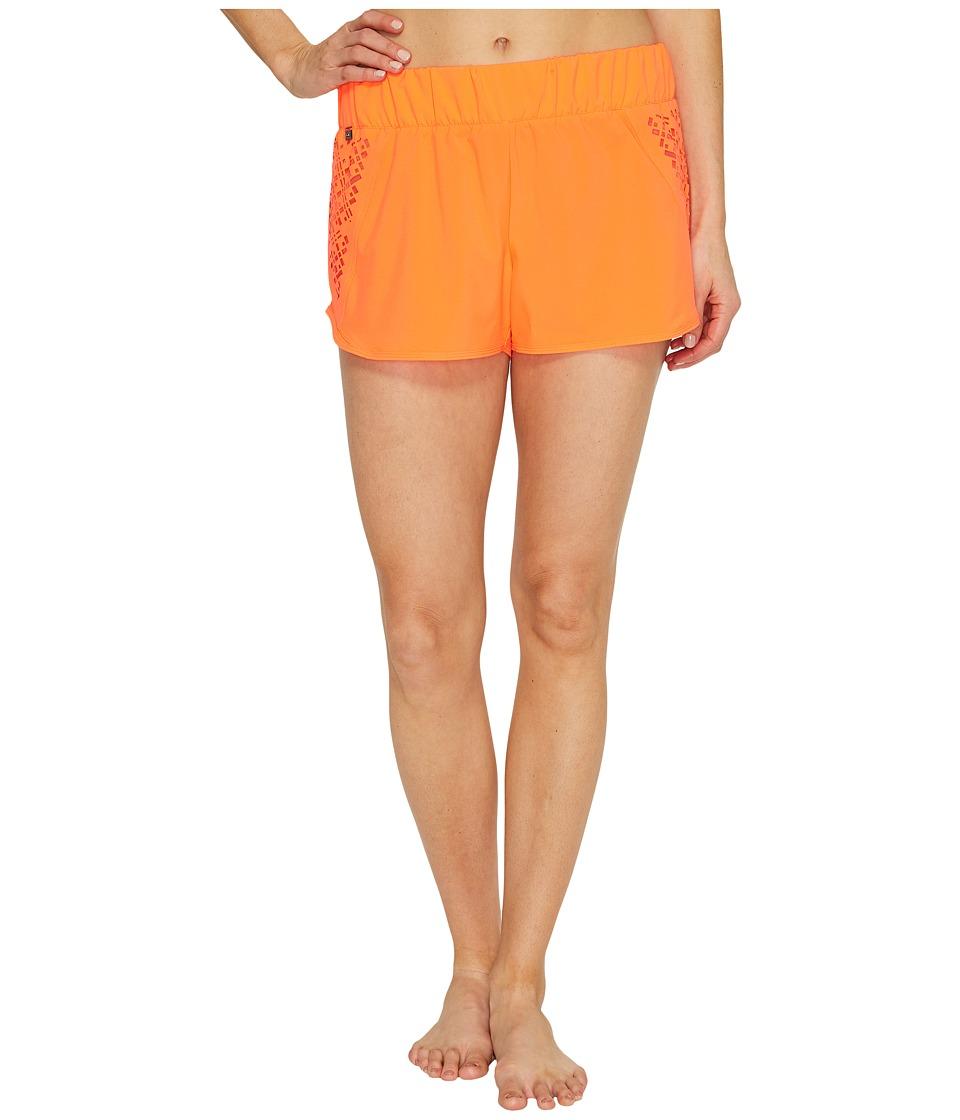 Lole Hanailei Boardshorts (Fiery Coral 1) Women
