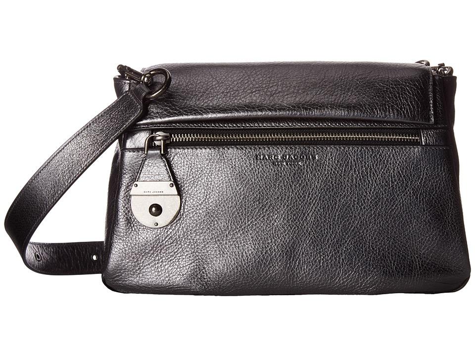 Marc Jacobs - The Standard Metallic Shoulder Bag (Anthracite) Shoulder Handbags