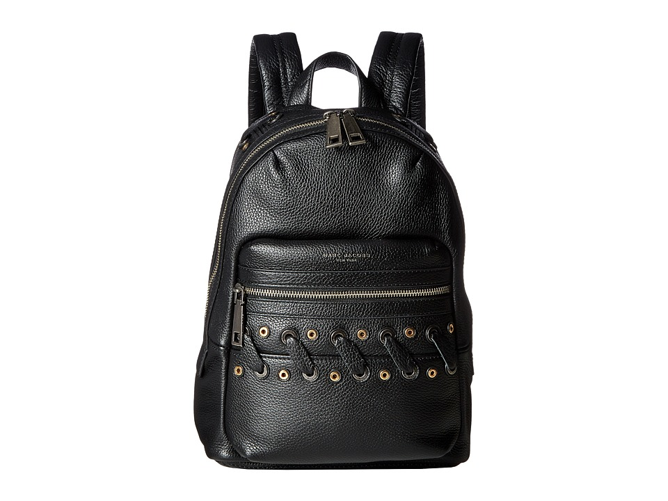 Marc Jacobs - Grommet Biker Backpack (Black) Backpack Bags