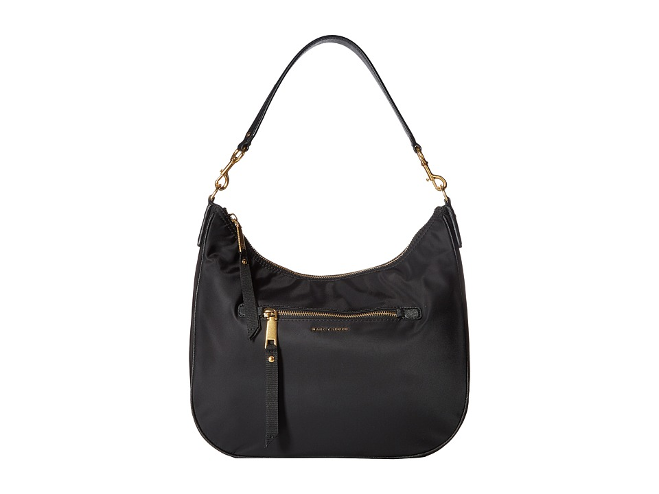 Marc Jacobs - Trooper Hobo (Black) Hobo Handbags
