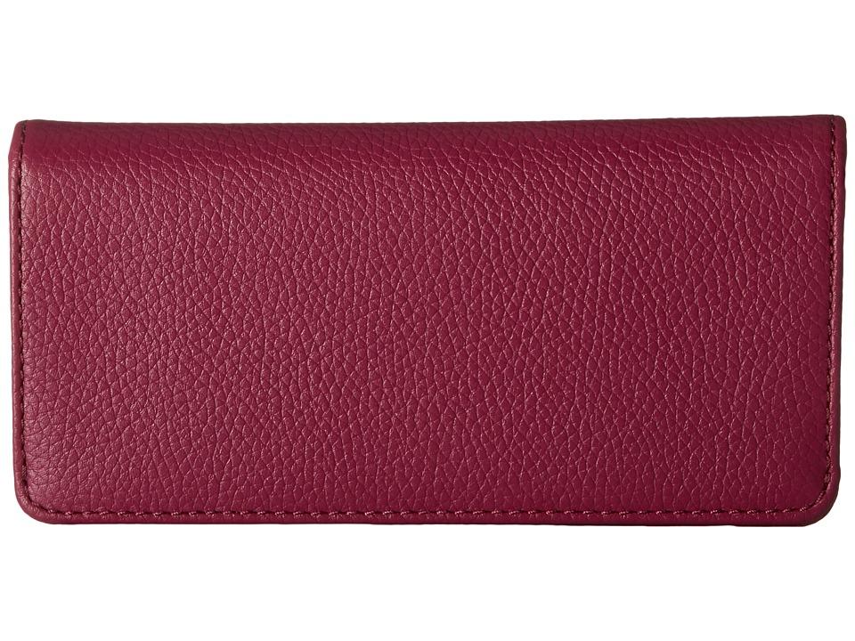 Marc Jacobs - Recruit Open Face Wallet (Wild Berry) Wallet Handbags