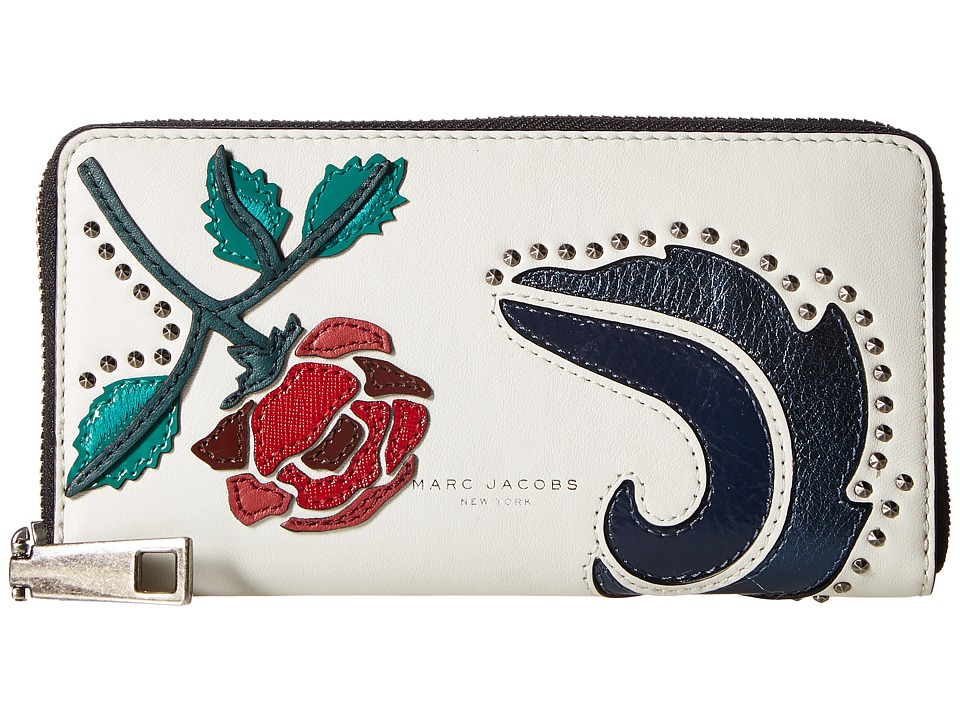 Marc Jacobs - MJ Collage Standard Continental Wallet (Dove Multi) Wallet Handbags