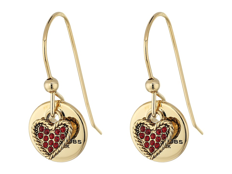 Marc Jacobs - MJ Coin Earrings (Red) Earring