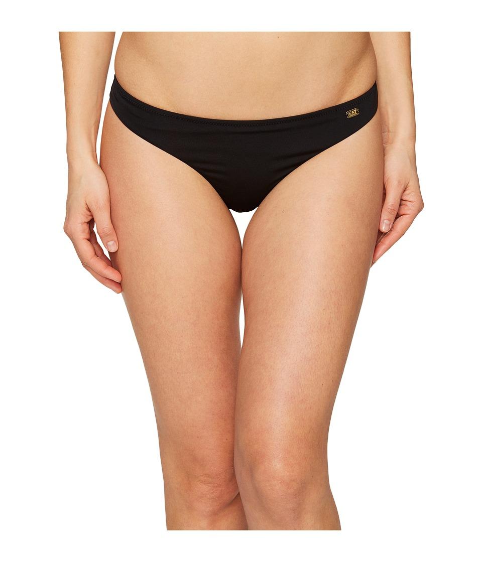 Emporio Armani - Seaworld Eagle Studs Brazilian Brief (Nero/Black) Women's Swimwear
