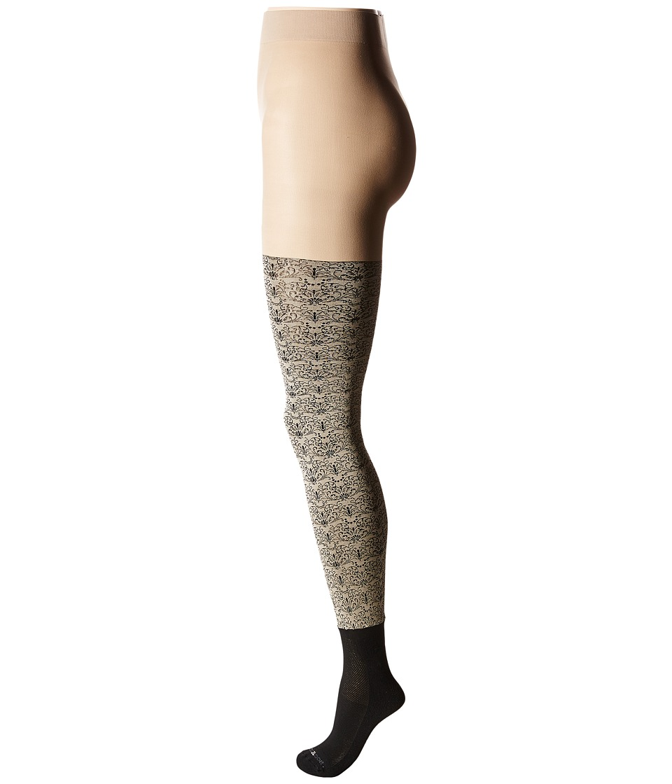 BOOTIGHTS - Lillith Scroll Bootight (Stone) Hose