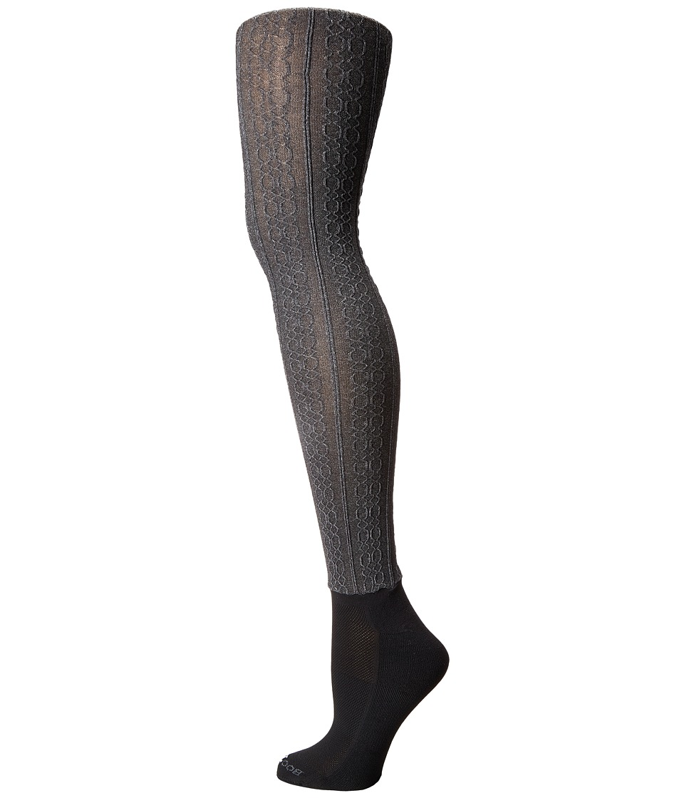BOOTIGHTS - Cable Knit Bootight (Heather) Hose