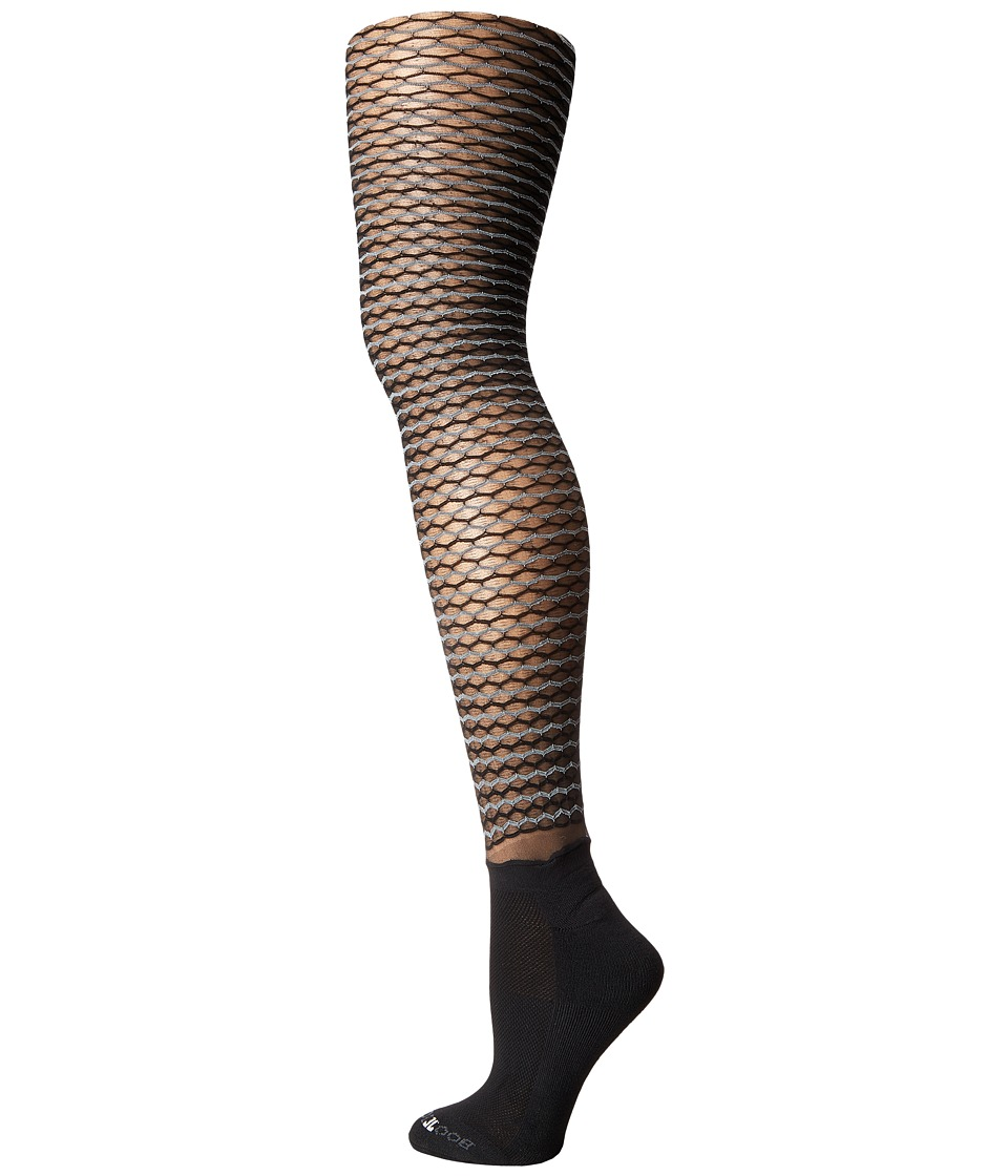BOOTIGHTS - Honeycomb Bootight (Black/Black) Hose