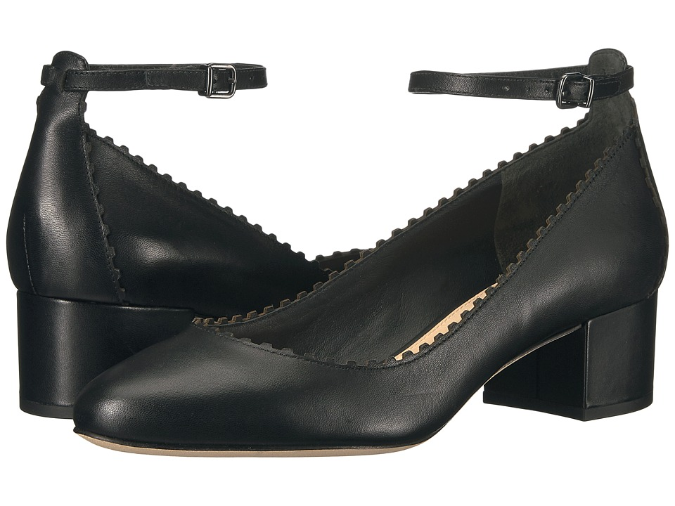 Via Spiga - Dionne (Black Nappa Leather) High Heels