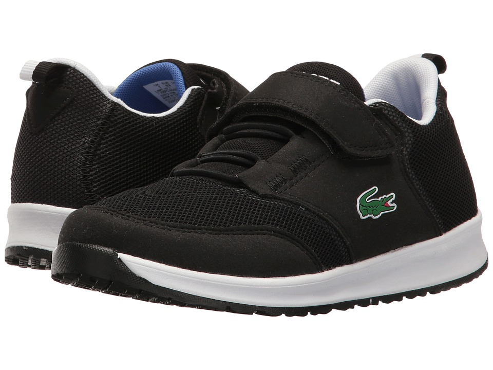 Lacoste Kids - L.ight 117 1 SP17 (Little Kid) (Black/Grey) Kids Shoes