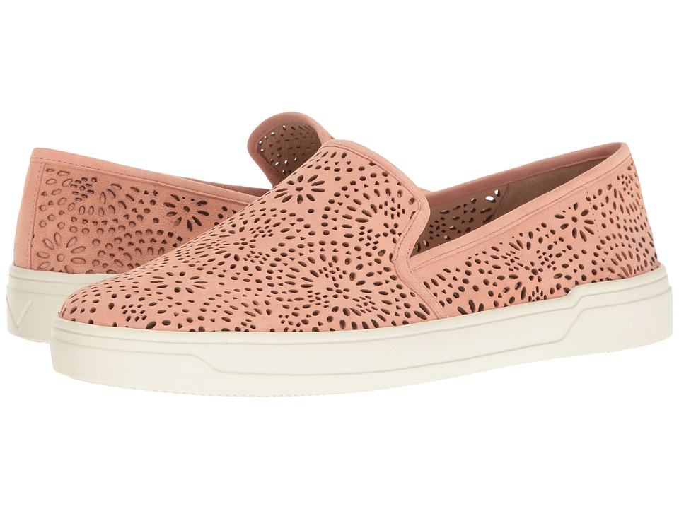 Via Spiga - Gavra (Salmon Suede) Women's Slip on Shoes