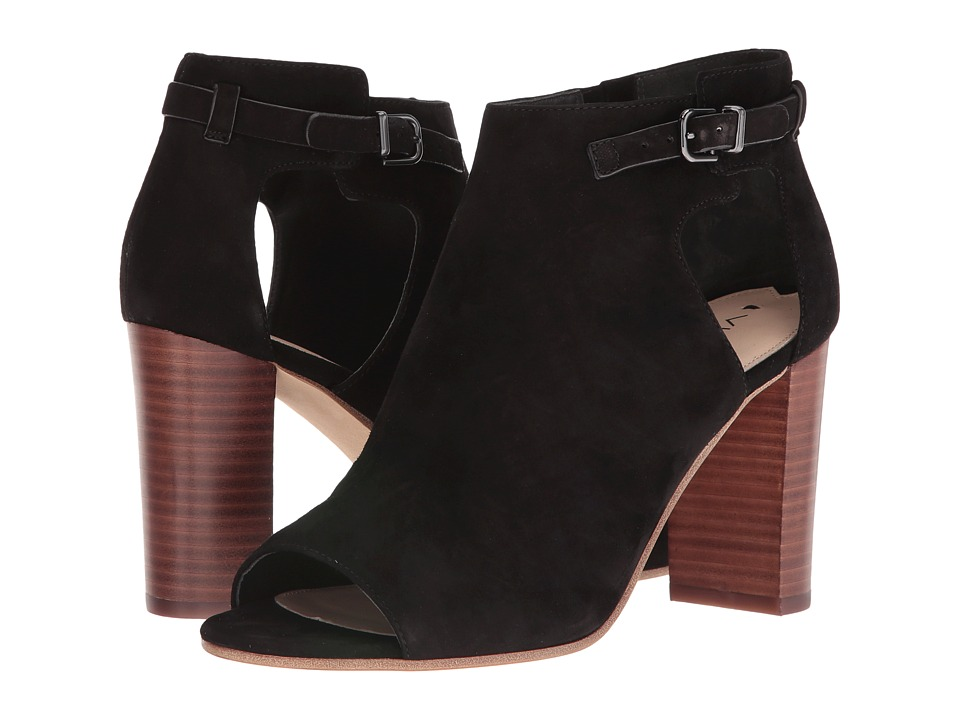 Via Spiga - Giuliana (Black Suede) High Heels