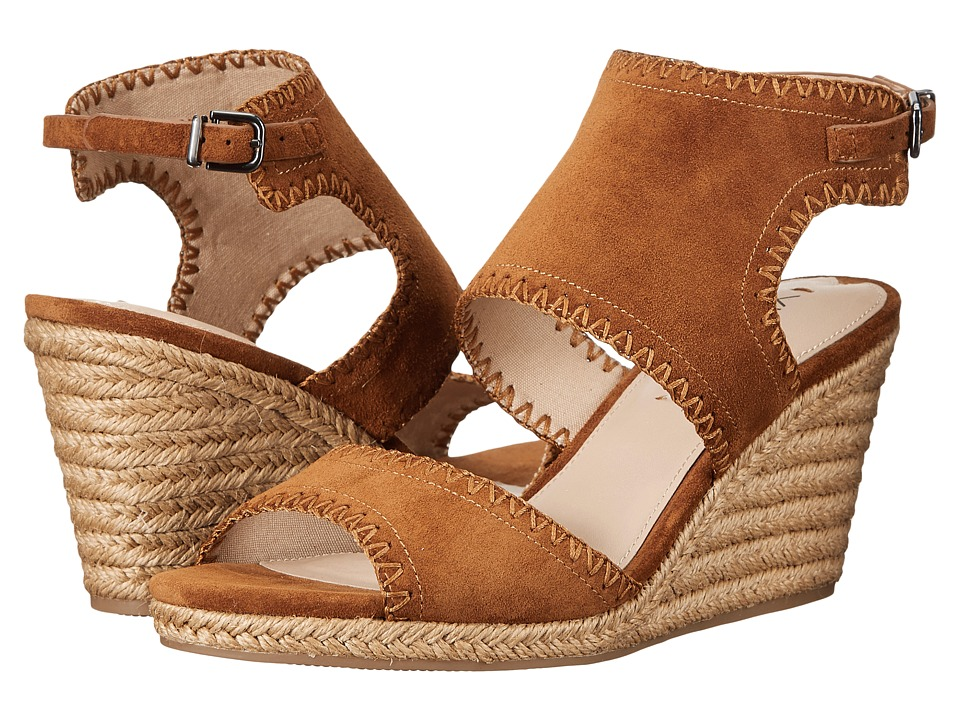 Via Spiga - Izett (Beech Suede) Women's Wedge Shoes