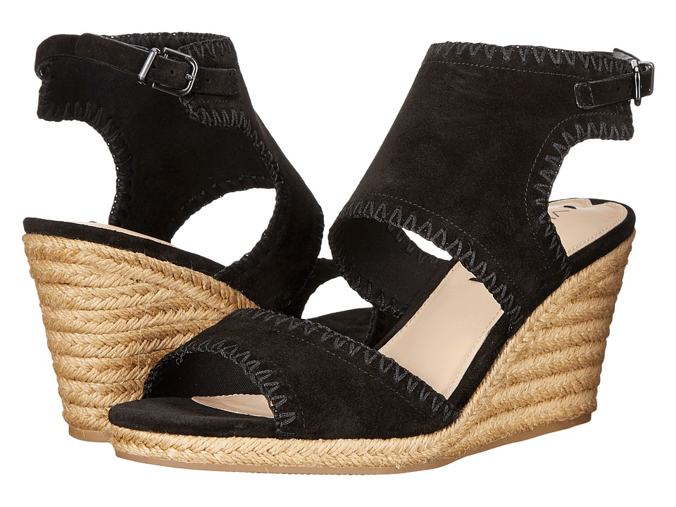 Via Spiga Izett (Black Suede) Women