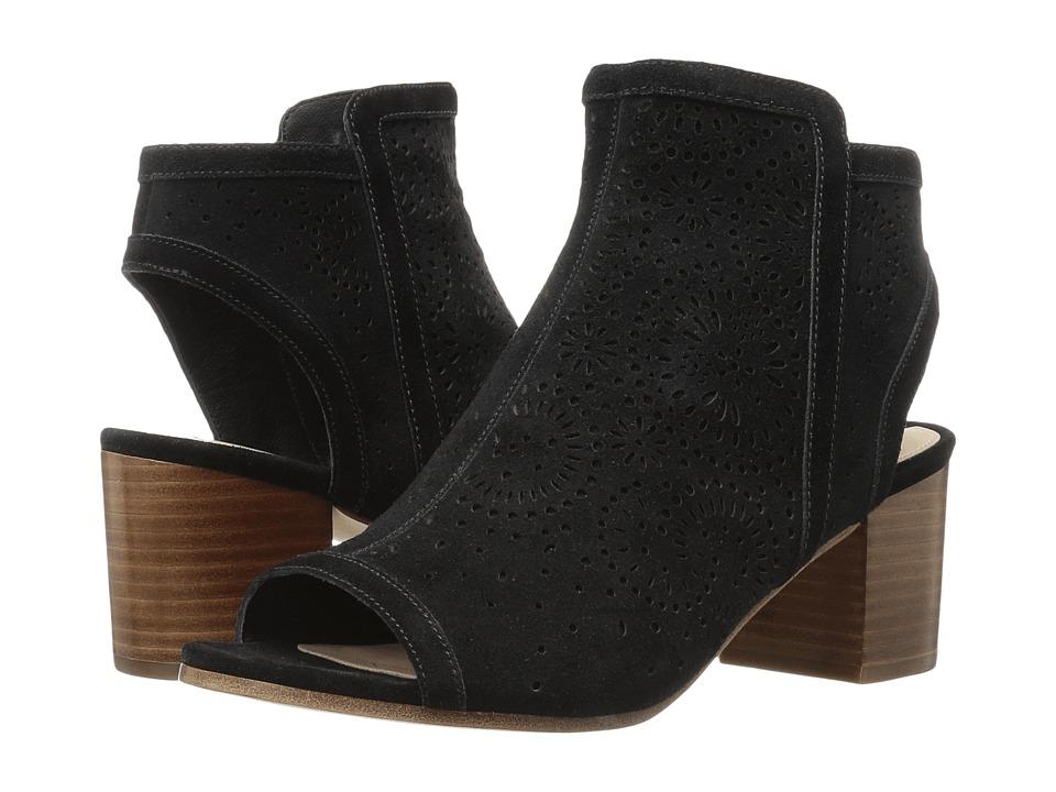 Via Spiga - Jorie (Black Suede) High Heels