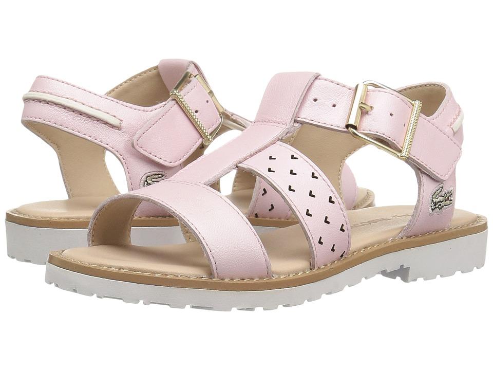 Lacoste Kids - Jardena Sandal 117 1 SP17 (Little Kid) (Light Pink) Girls Shoes