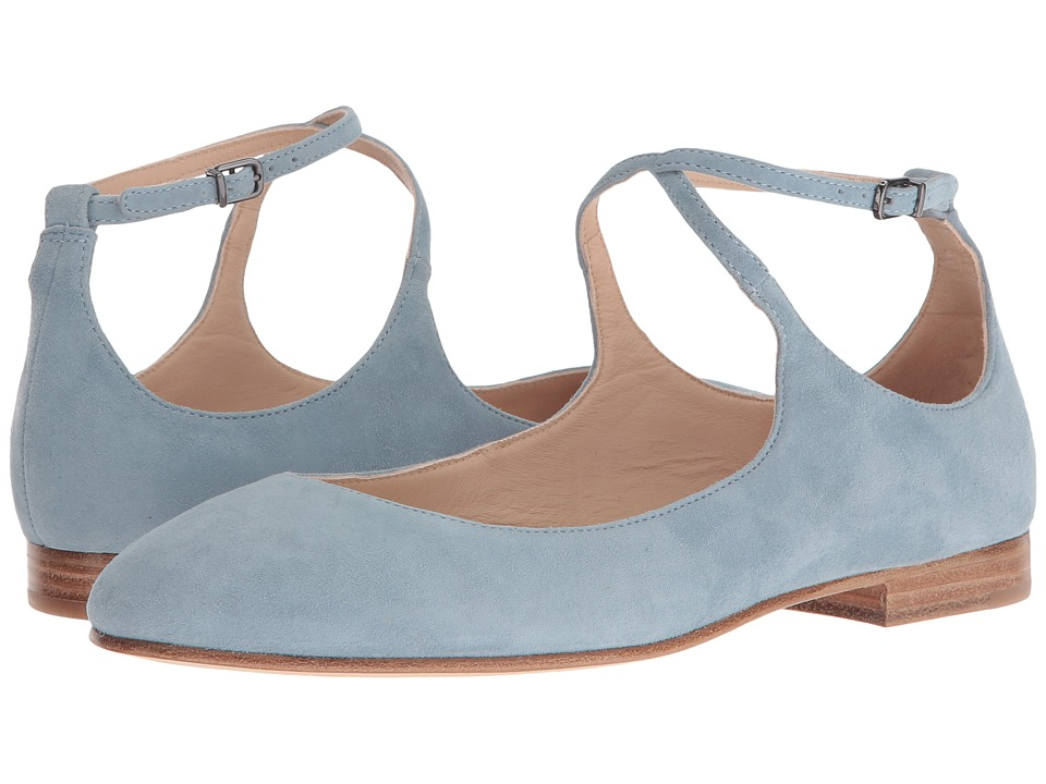 Via Spiga - Yovela (Sleepy Blue Suede) Women's Shoes
