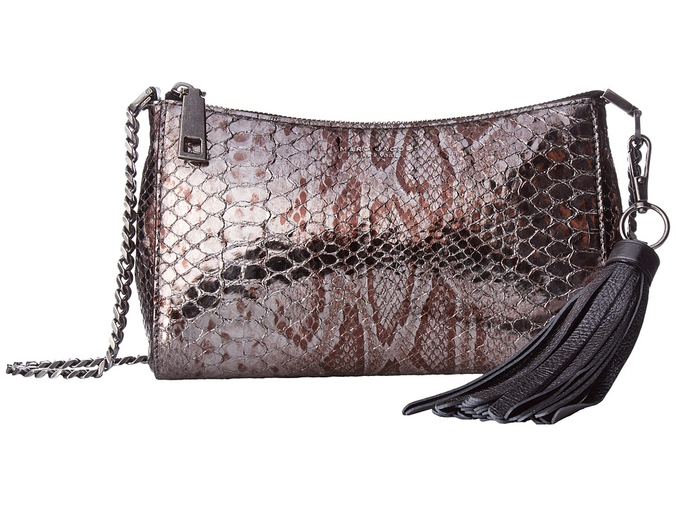 Marc Jacobs - Metallic Rue (Anthracite) Handbags