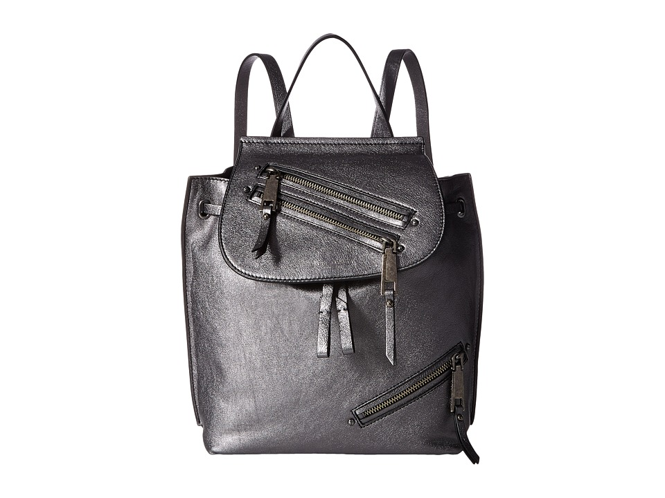 Marc Jacobs - Metallic Zip Pack (Anthracite) Handbags