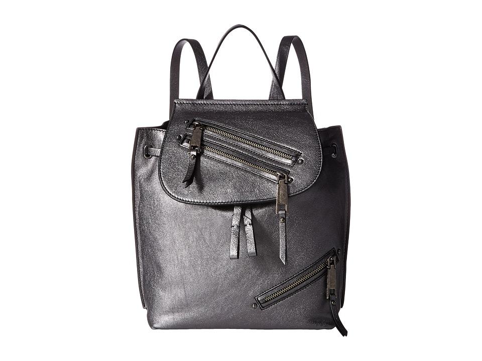 Marc Jacobs - Metallic Zip Pack (Anthracite) Handbags