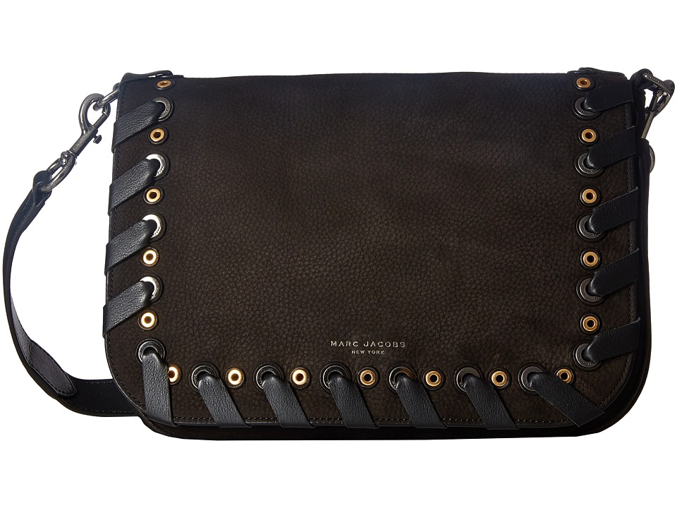 Marc Jacobs - Grommet Courier (Black) Handbags