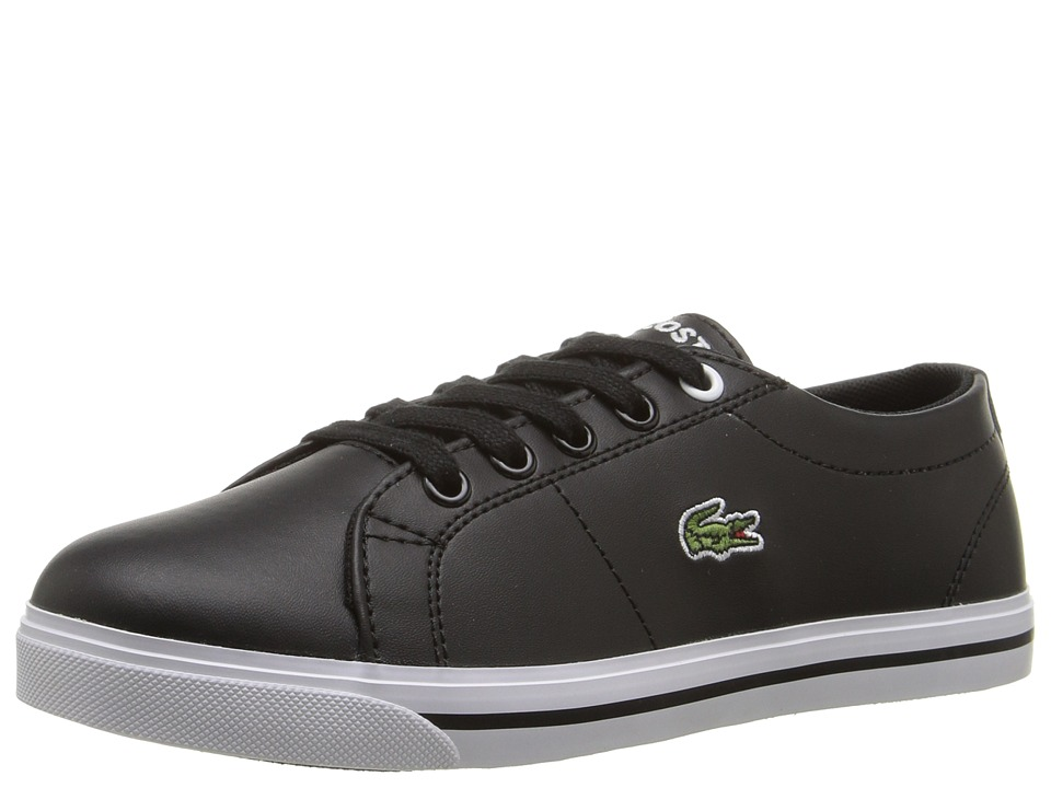 Lacoste Kids - Riberac 117 1 SP17 (Little Kid) (Black/Black) Kids Shoes