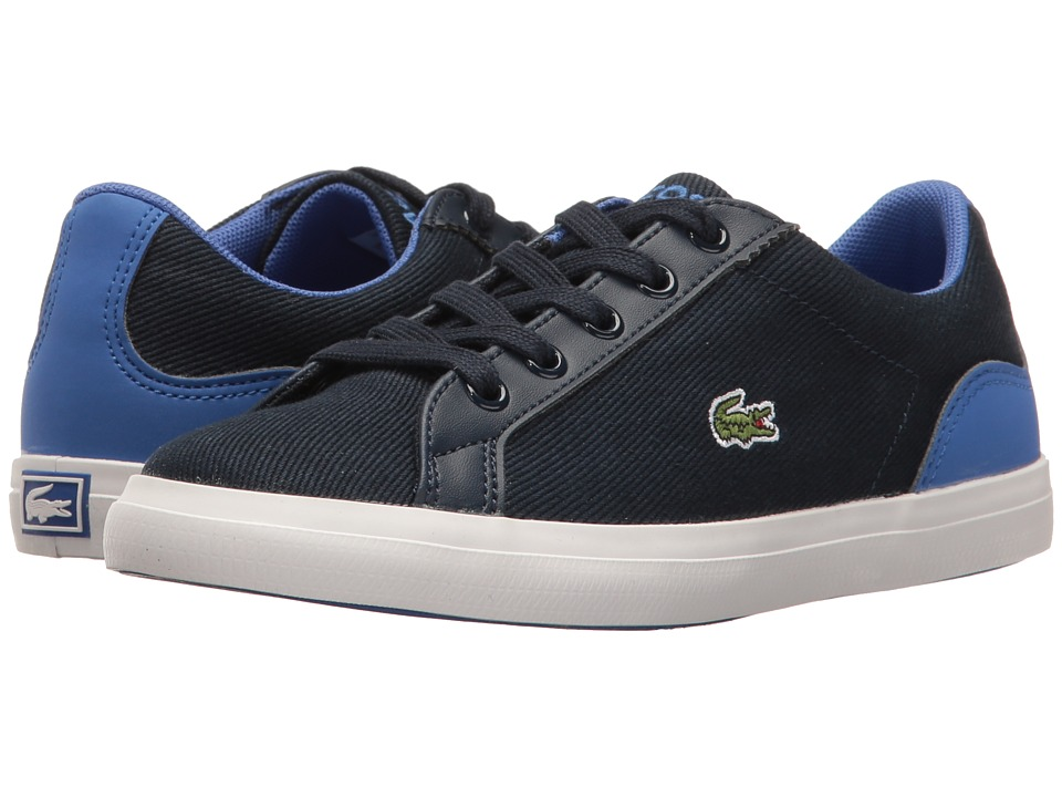 Lacoste Kids - Lerond 117 1 SP17 (Little Kid) (Navy/Blue) Kids Shoes